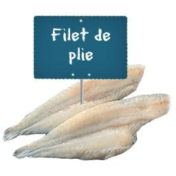 Filet de PLIE La portion à la demande à partir de 300gr