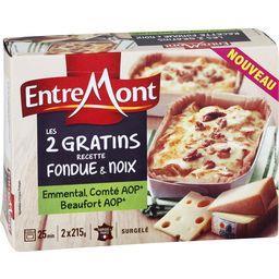 Les 2 Gratins recette fondue & noix