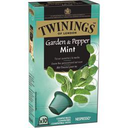 Capsules de thé vert Garden & Pepper Mint