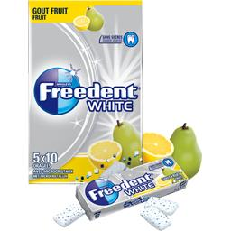 White - Chewing-gum goût fruit sans sucres