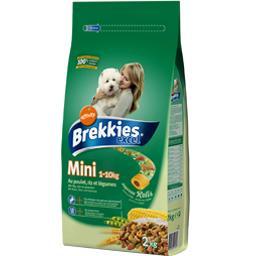 Mini 1-10kg, croquettes pour petits chiens adultes au poulet, riz et légumes