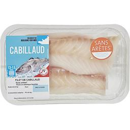 Filet de cabillaud sans arrête