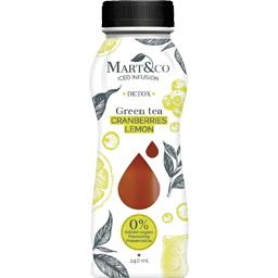 Boisson Green Tea Detox Cranberries Lemon