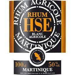 Rhum blanc agricole Martinique