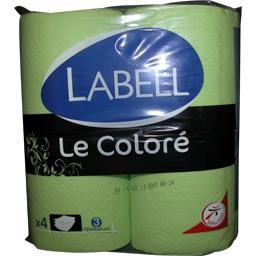 Papier toilette vert Le Coloré