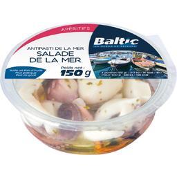 Baltic Salade de la mer marinée la barquette de 120 g net égoutté