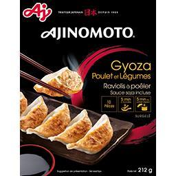 Ravioli à poêler Gyoza poulet et légumes