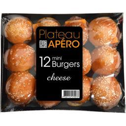 Plateau Apéro mini Burgers Cheese