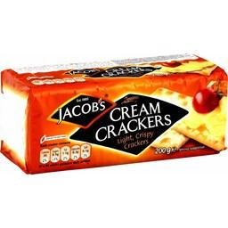Cream Crackers Light, Crispy Crackers