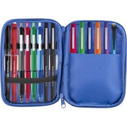 Paper Mate Trousse roulée garnie assortis la trousse + 17 crayons