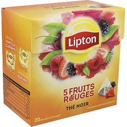 Thé 5 fruits rouges
