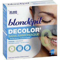 Gel décolorant Décolor' sans ammoniaque visage