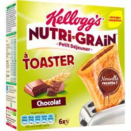 Nutri-Grain - Chausson aux céréales à toaster chocolat