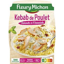 Sur Le Pouce - Kebab de poulet & semoule à l'orienta...