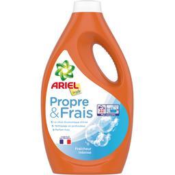 Ariel Simply Lessive liquide Propre & Frais fraîcheur intense