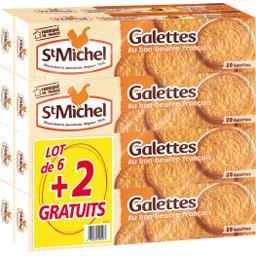 Biscuits galettes tout au beurre St Michel