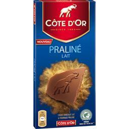 Chocolat praliné lait