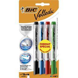 Crayon effaçable à sec Pocket assortis