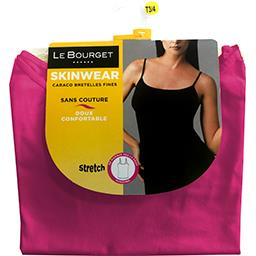 Caraco Skinwear bretelles fines taille 1/2 rose