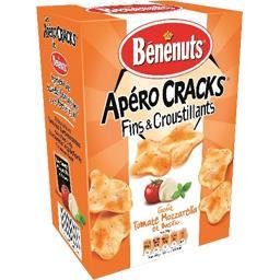 Apéro Cracks - Crackers goût tomate mozzarella