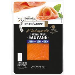 L'Indomptable saumon fumé sauvage