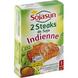 Steaks de soja à l'Indienne