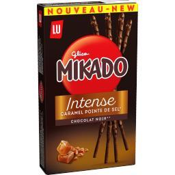 Mikado - Biscuits Intense chocolat noir caramel poin...