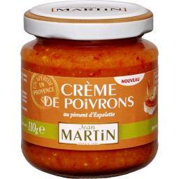 Crème de poivron au piment d'Espelette