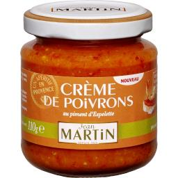 Crème de poivron