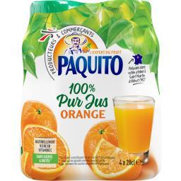 100% pur jus d'orange