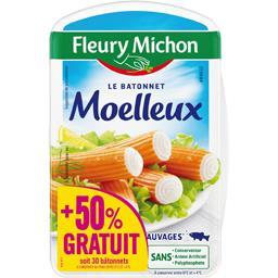 Fleury Michon Surimi Le Bâtonnet Moelleux la boite de 320 g - 480 g