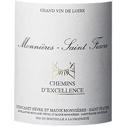 """Muscadet Sèvre et Maine Chemin d'Excellence - """"Monnière Saint Fiacre"""" vin Blanc sec 2014"""