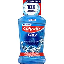 Colgate Plax - Bain de bouche Ice, 12h de protection le flacon de 500 ml
