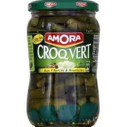 Croq'vert - Cornichons extra-fins aux 5 épices & aro...