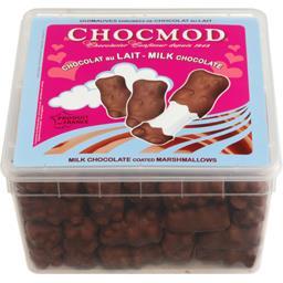 Guimauves fantaisies enrobées de chocolat au lait