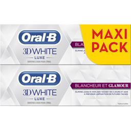 3d white - luxe - blancheur et glamour - dentifrice