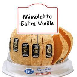 Mimolette extra-vieille prédécoupé 30% de MG