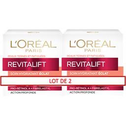 L'Oréal Paris Revitalift - Soin hydratant FPS 30 anti-rides extra-... les 2 pots de 50 ml