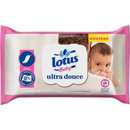 Lotus Baby Lingettes ultra douce