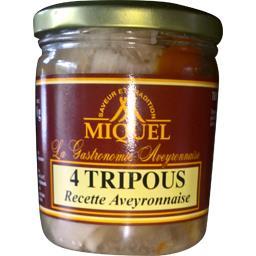 Miquel 4 tripous recette Aveyronnaise la boite de 400 g