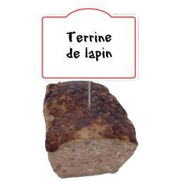Terrine de LAPIN à l'ancienne