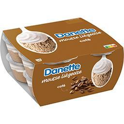 Danone Danone Danette - Mousse liégeoise café
