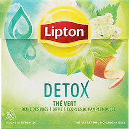 Thé vert Détox reine des prés ortie écorces de pampl...