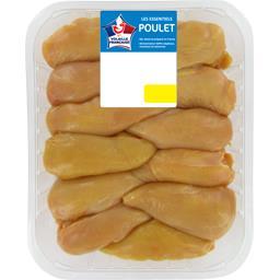 Filet de poulet jaune