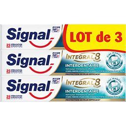 Integral 8 - Dentifrice interdentaire avec micro billes