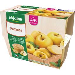 Desserts pommes, de 4/6 mois à 36 mois