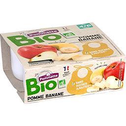 Purée de pomme banane BIO, dès 4/6 mois