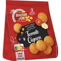 Bouton d'Or Les Petits Sablés au beurre tomate & oignon le paquet de 120 g