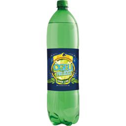 Ogeu Fruizz - Soda lemon lime la bouteille de 1,5 l