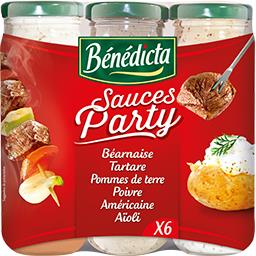 Sauces Party - Assortiment de sauces